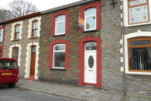 Thumbnail Terraced house to rent in Standard View, Porth