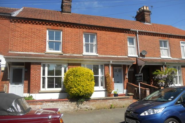 Thumbnail Terraced house to rent in Mornington Road, Norwich