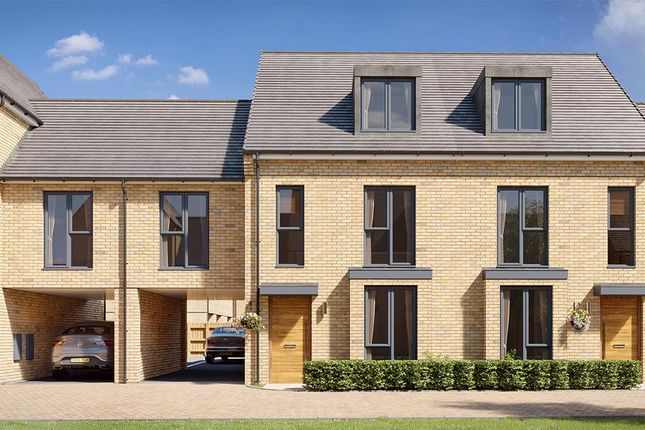 "Thumbnail Property for sale in ""Bassett"" at Crete Hall Road, Northfleet, Gravesend"