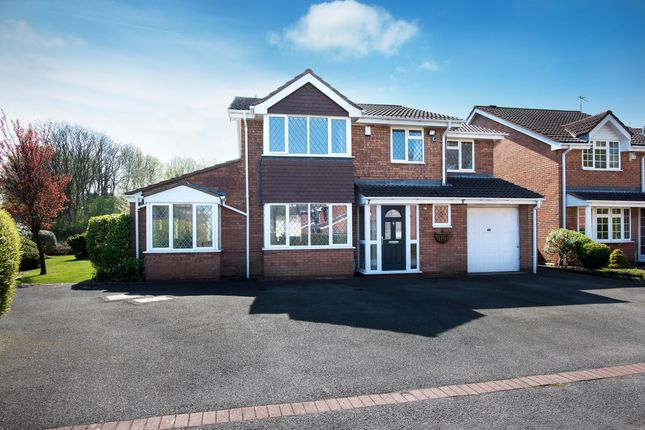 Thumbnail Detached house for sale in Troon, Amington, Tamworth