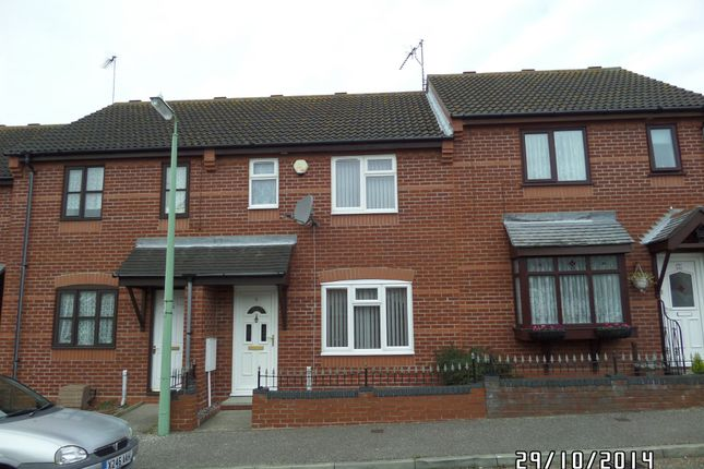 Thumbnail Terraced house to rent in The Croft, Lowestoft