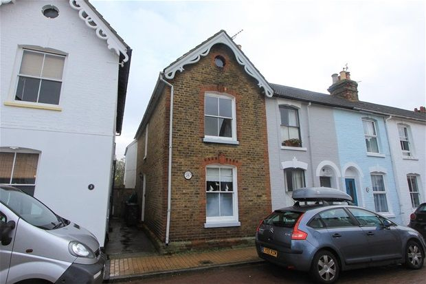 Thumbnail Terraced house to rent in Bexley Street, Whitstable