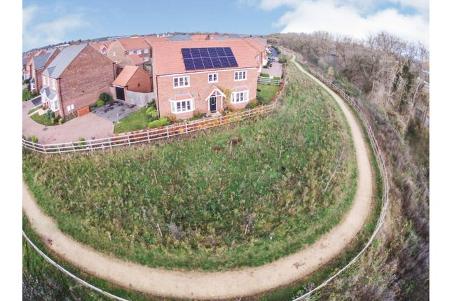 Aerial View of Falling Sands Close, Stour Valley Kidderminster DY11