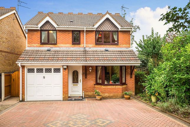 Thumbnail Detached house for sale in Meadow Way, Gobowen, Oswestry