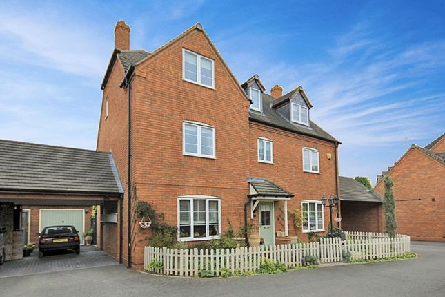 Thumbnail Detached house for sale in Barbary Grange, Stafford