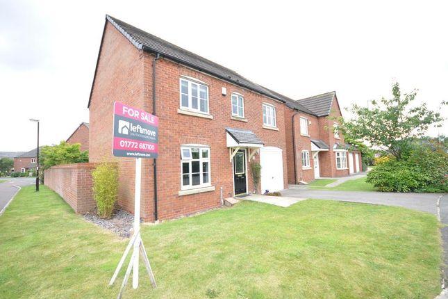 Thumbnail Detached house for sale in Green Bank, Wesham, Preston, Lancashire