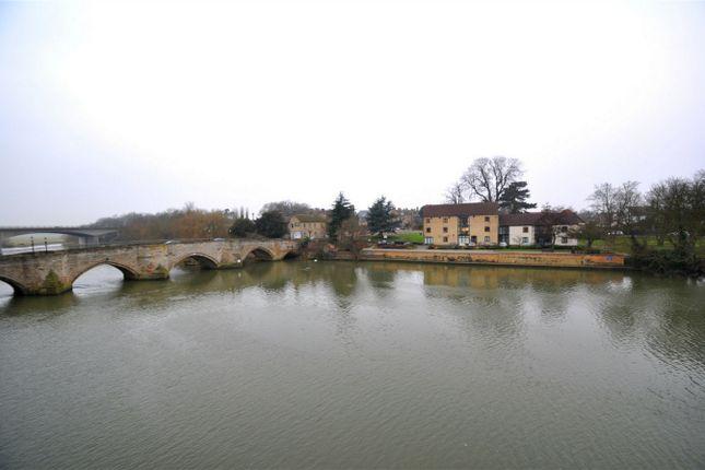 Thumbnail Flat to rent in Bridge Place, Godmanchester, Huntingdon, Cambridgeshire