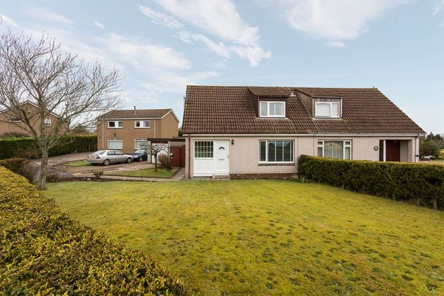 Thumbnail Semi-detached bungalow for sale in Maryknowe, Gauldry, Newport-On-Tay