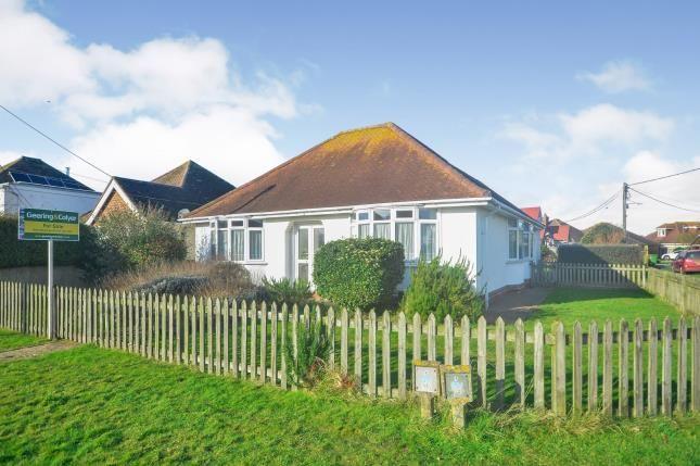 Thumbnail Bungalow for sale in Kingsway, Dymchurch, Romney Marsh, Kent