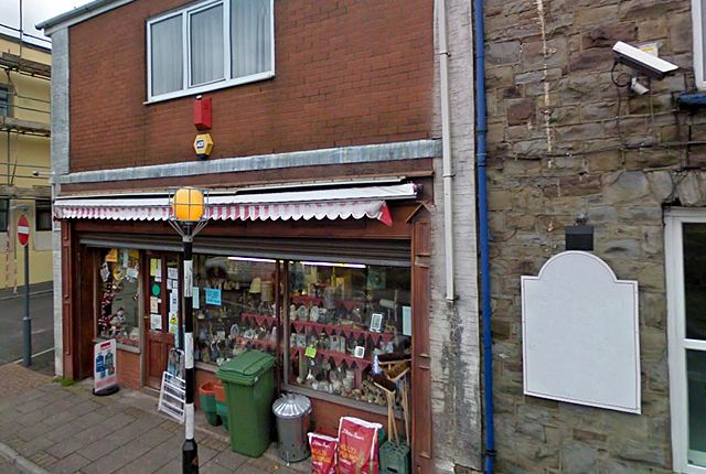 Thumbnail Retail premises for sale in Church Road, Pentre