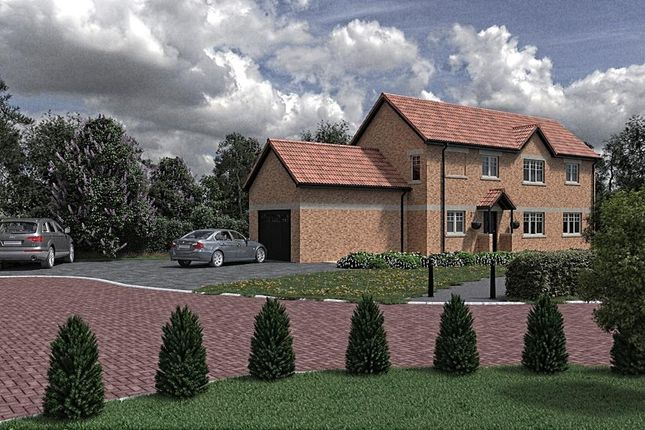 Thumbnail Detached house for sale in Hawthorne Close, Glentworth, Gainsborough