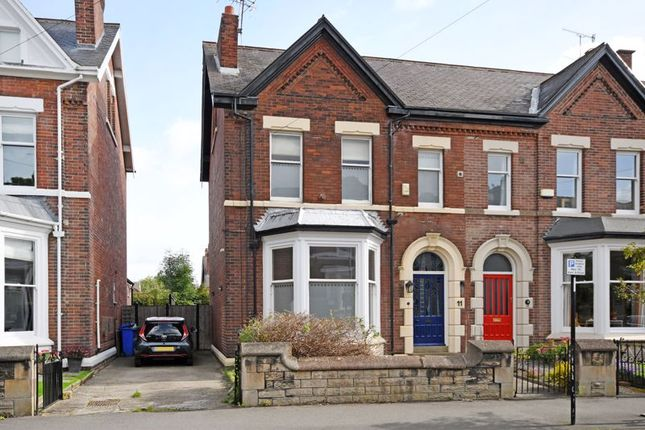 Thumbnail Semi-detached house for sale in Grange Crescent Road Sharrow, Sheffield