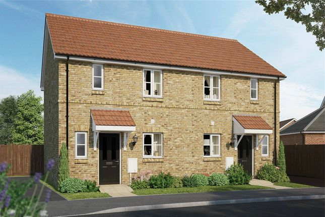 Thumbnail Semi-detached house for sale in The Charlton, Meadow Croft, Houghton Conquest, Bedford