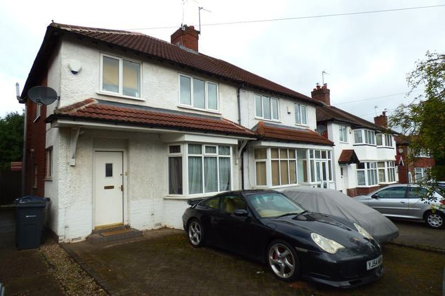 Thumbnail Semi-detached house to rent in Wentworth Park Avenue, Harborne, Birmingham