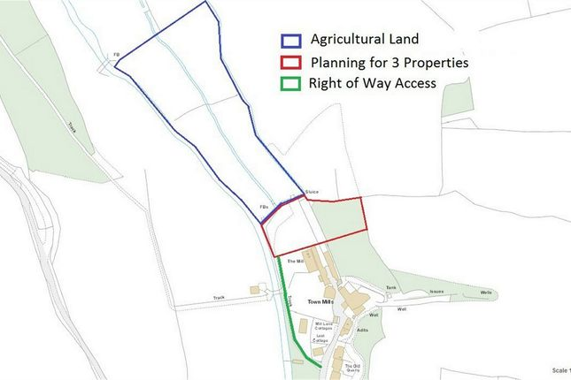 Thumbnail Land for sale in Mill Lane, Grampound, Truro, Cornwall