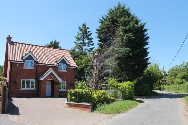 Thumbnail Detached house for sale in Church Road, Wacton, Norwich