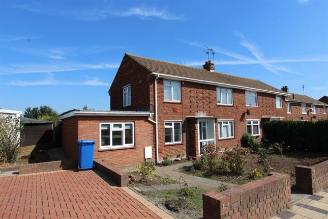 Thumbnail End terrace house to rent in Staplehurst Road, Milton Regis, Sittingbourne