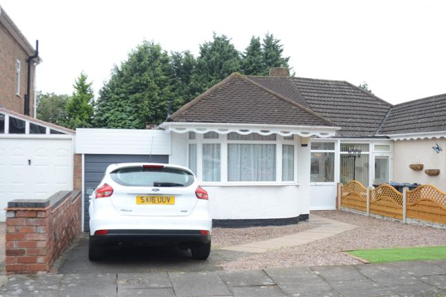 Thumbnail Semi-detached bungalow for sale in Teesdale Avenue, Castle Bromwich, Birmingham