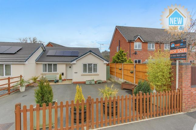 Thumbnail Semi-detached bungalow for sale in Vicarage Road, Rhydymwyn, Mold
