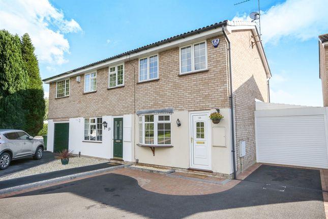 Thumbnail Semi-detached house for sale in Lesscroft Close, Pendeford, Wolverhampton