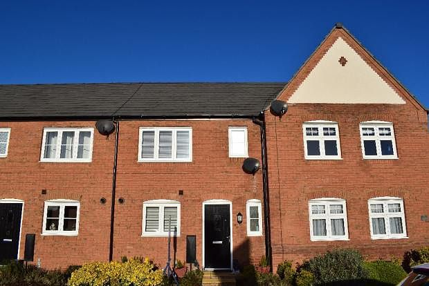 3 bed terraced house to rent in Highlander Road, Saighton CH3