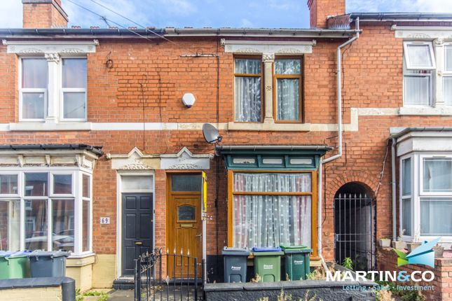 Thumbnail Terraced house for sale in Reginald Road, Bearwood