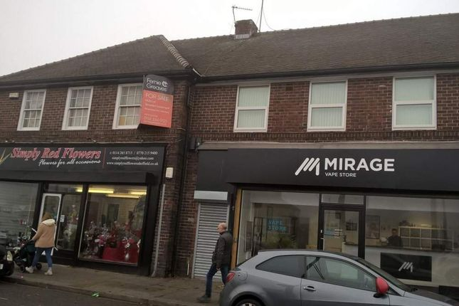 Thumbnail Commercial property for sale in 4 And 6 Ridgeway Road, Sheffield