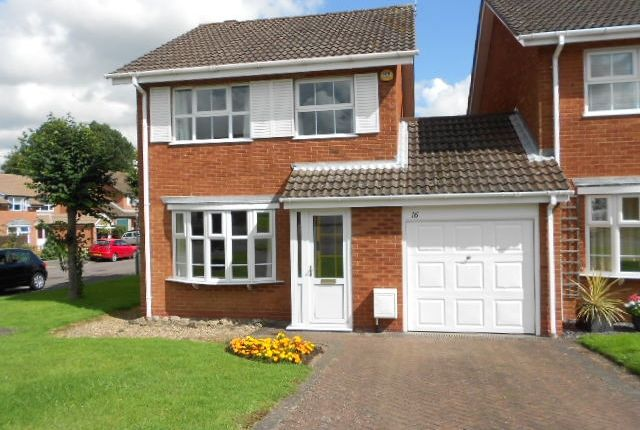 Thumbnail Detached house to rent in Edyvean Close, Bilton, Rugby, Warwickshire