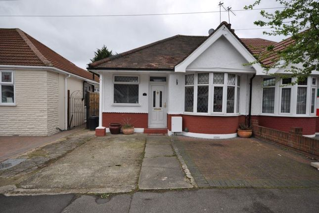 Thumbnail Bungalow to rent in Howard Road, Upminster
