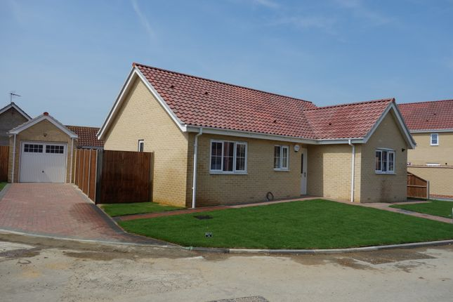 Thumbnail Detached bungalow for sale in Station Road, Reedham, Norwich
