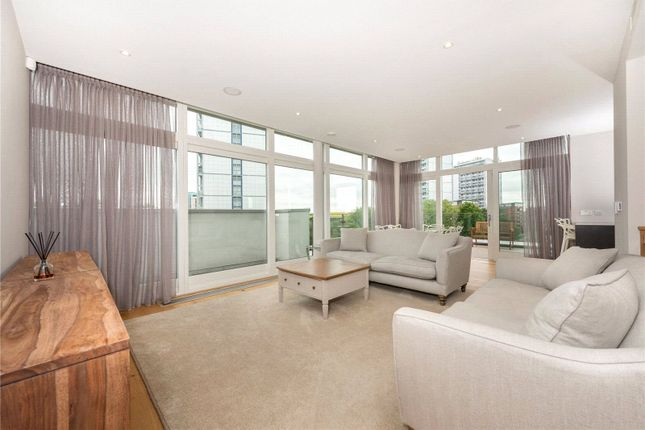 Thumbnail Flat to rent in Waterfront Apartments, 82 Amberley Road, Maida Vale, London