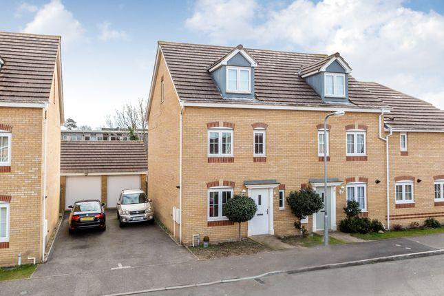 Thumbnail End terrace house for sale in Regency Court, Rushden