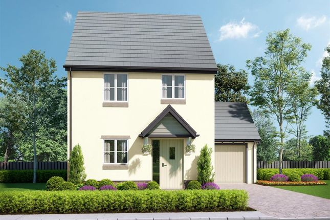 Thumbnail Link-detached house for sale in Abbeyford Vale, Crediton Road, Okehampton, Devon