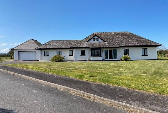 5 bed detached bungalow for sale in Parc Yr Efail, Cross Inn, Nr New Quay, Ceredigion SA44