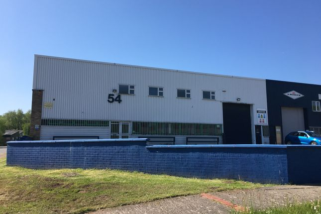 Thumbnail Industrial to let in Unit 54 Springvale Industrial Estate, Cwmbran