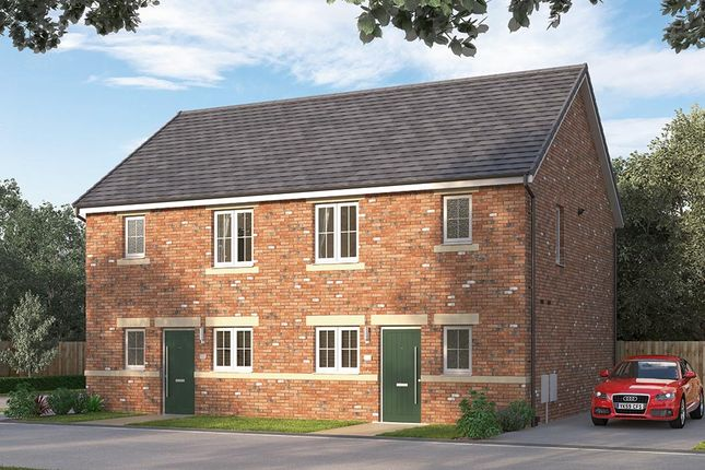 "Thumbnail Semi-detached house for sale in ""The Knightsbridge"" at Browney Lane, Browney, Durham"