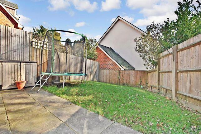 Rear Garden of Lincoln Way, Crowborough, East Sussex TN6