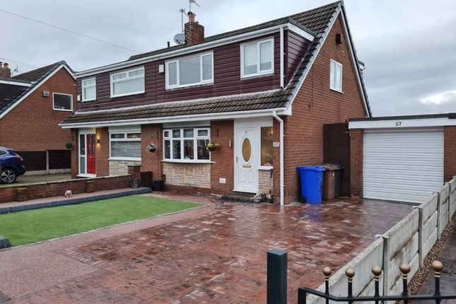 Semi-detached house for sale in Leesway Drive, Denton, Manchester