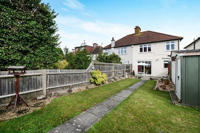 Thumbnail Semi-detached house for sale in Garden Close, Wallington, Surrey