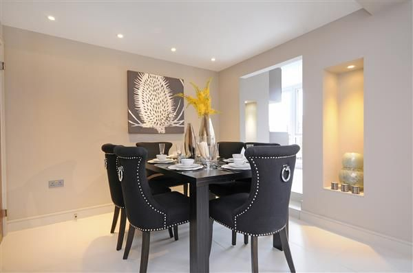 Dining-Room of Boydell Court, St Johns Wood Park, London NW8