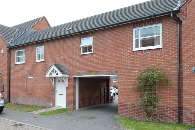 Thumbnail Flat for sale in Flannagan Way, Coalville, Leicestershire