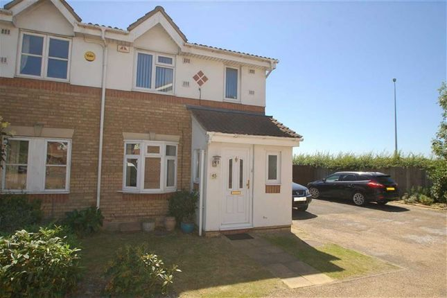 Thumbnail End terrace house to rent in Pyttfield, Harlow, Essex