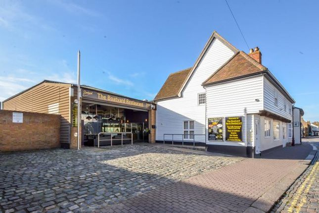 Thumbnail Restaurant/cafe for sale in The Boatyard, 8-13, High Street, Leigh-On-Sea