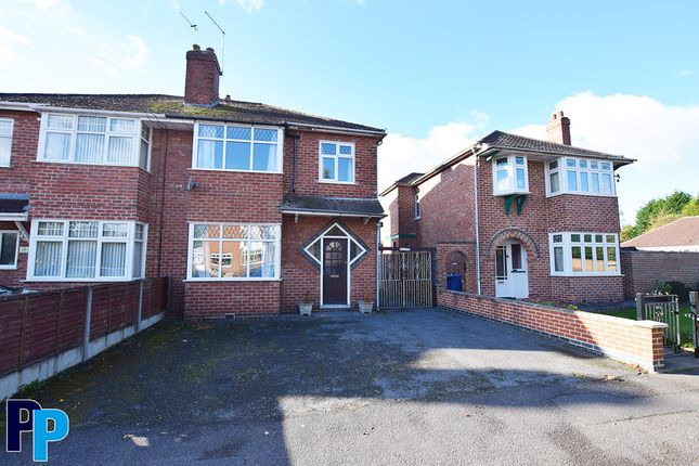 Thumbnail Semi-detached house to rent in Wellesley Avenue, Sunnyhill, Derby