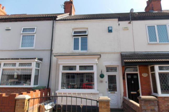 Thumbnail Terraced house for sale in Hey Street, Cleethorpes