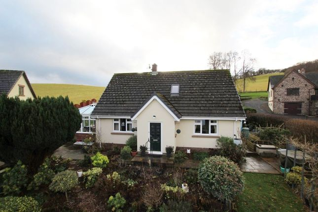 Thumbnail Detached bungalow for sale in Pwllgloyw, Brecon