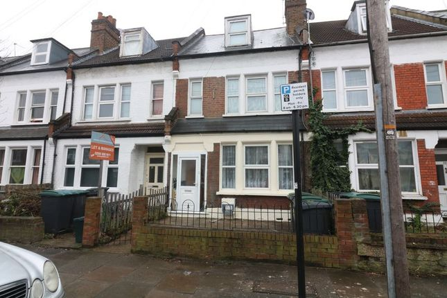 Thumbnail Terraced house to rent in Cranleigh Road, London