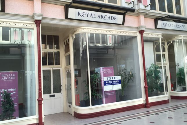 Thumbnail Retail premises to let in Royal Arcade, Unit 12, Boscombe, Bournemouth