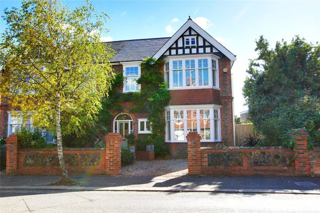 Thumbnail Semi-detached house for sale in Cowper Road, Worthing, West Sussex