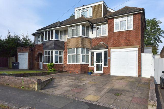 Thumbnail Semi-detached house for sale in Sutton Oak Road, Sutton Coldfield